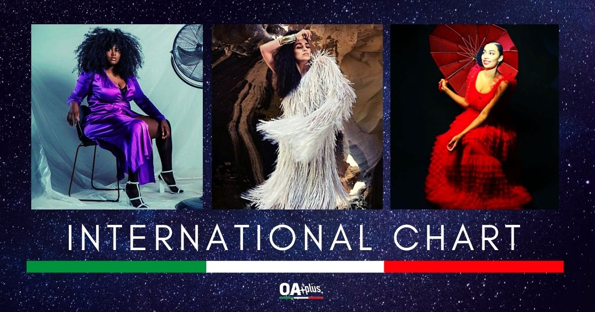 OA PLUS INTERNATIONAL CHART (Week 1/2021): Liraz, Yseult e Celeste, le tre regine dell'Epifania