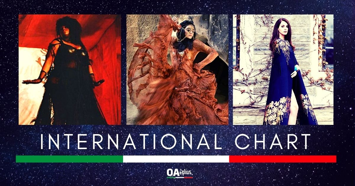 OA PLUS INTERNATIONAL CHART (WEEK 2/2021): Liraz e Yseult regine a confronto, Lana Del Rey diva al debutto