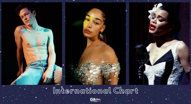 OA PLUS INTERNATIONAL CHART (WEEK 4/2021): trionfano la classe di Jorja Smith e di Andra Day e gli anni '80 riletti da Perfume Genius