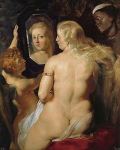 Venere allo specchio - Peter Paul Rubens (1615)