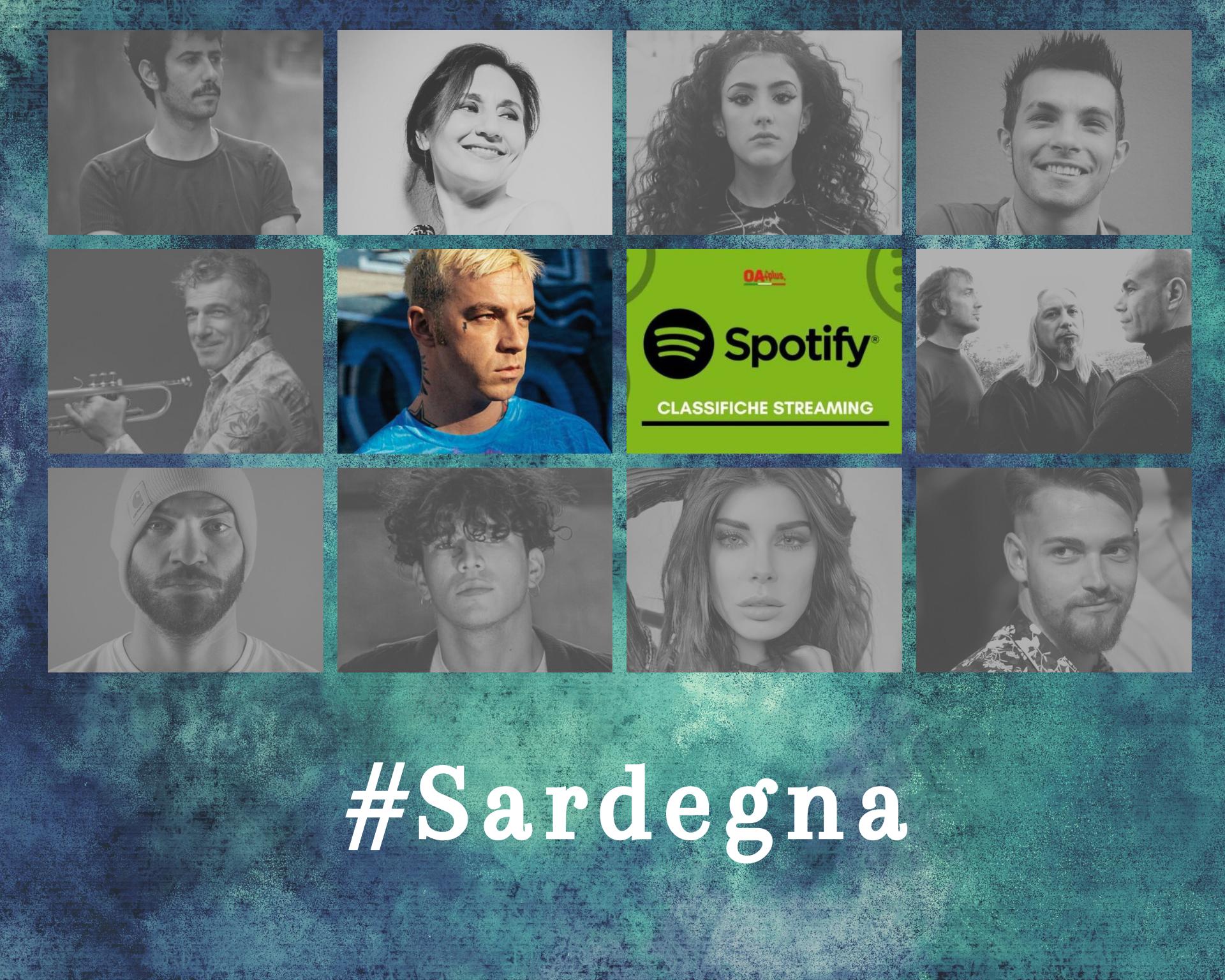 Cantanti della Sardegna più ascoltati su Spotify: Salmo e il jazz di Paolo Fresu battono i talent