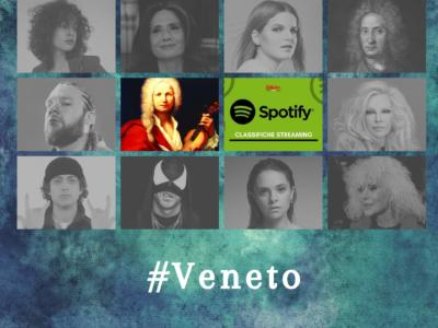 Artisti del Veneto più ascoltati su Spotify: Vivaldi resiste al rap di Nitro e Madame