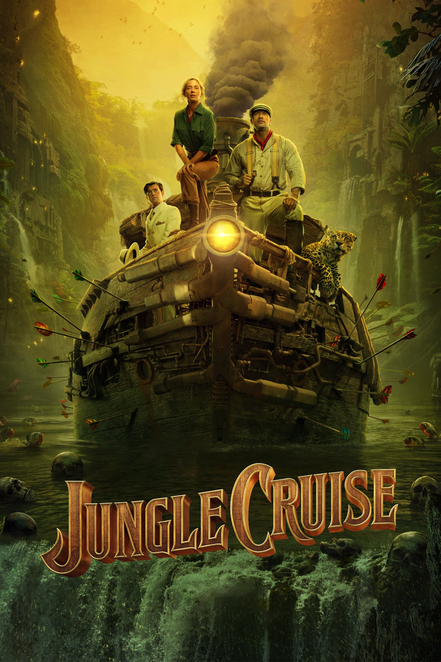 "Cinema. ""Jungle Cruise"""
