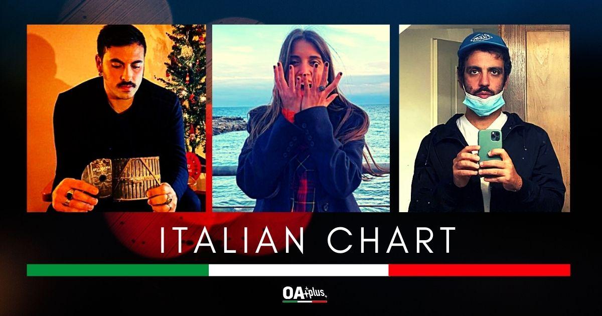 OA PLUS ITALIAN CHART (Week 1/2021): Diego Rivera e Greta Zuccoli resistono, Samuel e Colapesce debuttano