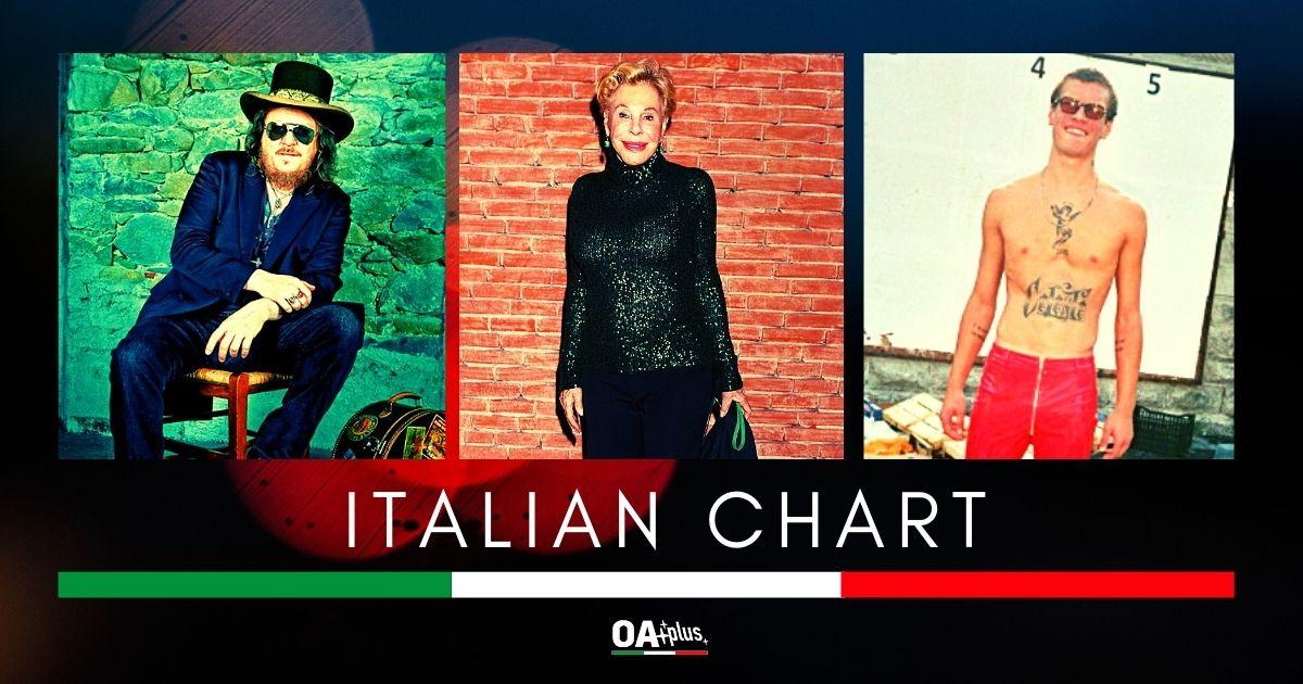OA PLUS ITALIAN CHART (WEEK 2/2020): Blanco sul podio vintage con Ornella Vanoni e Zucchero