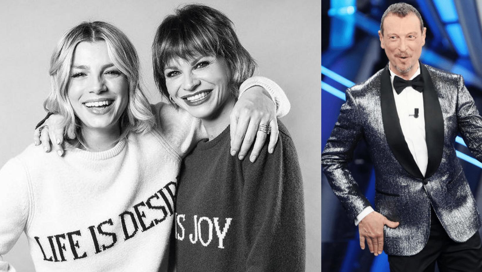 Emma Marrone e Alessandra Amoroso ospiti a Sanremo 2021? Amadeus: «Sarei onorato della loro presenza»