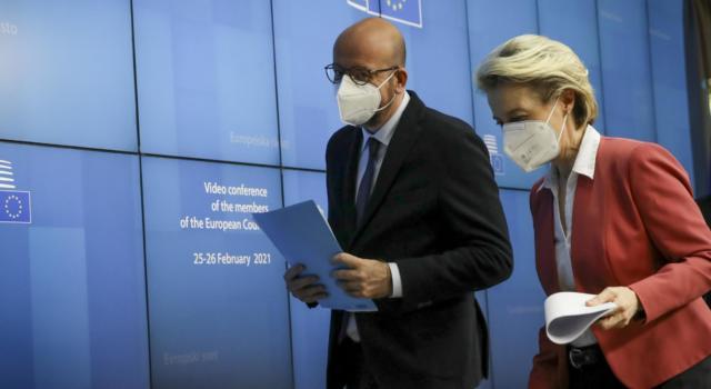 """Vertice Ue su vaccini. Premier Draghi: """"Priorità alle prime dosi"""""""