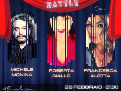 Sanremo Battle show, questa sera in onda su Sport2u la finalissima con la gara tra le canzoni storiche del Festival. Ospiti: Roberta Giallo, Francesca Alotta e Michele Monina