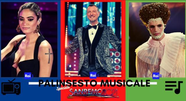 Rubrica, PALINSESTO MUSICALE: Speciale Sanremo 2021