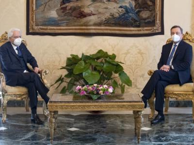ULTIM'ORA. Mario Draghi è arrivato al Quirinale per il colloquio con il presidente Mattarella