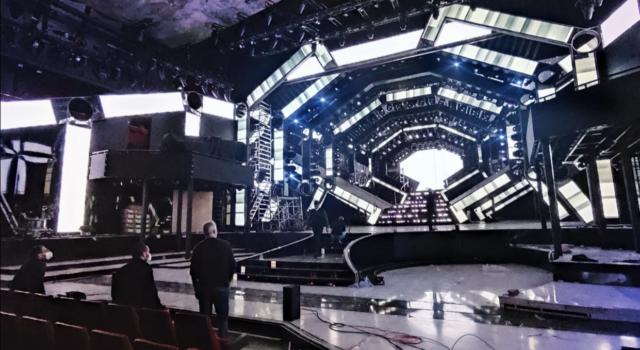 """Festival di Sanremo 2021. Ecco come sarà la scenografia dell'Ariston. Claudio Fasulo: """"Futuristica"""""""