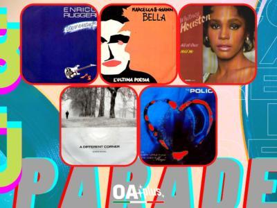 Rubrica, 80PARADE. Enrico Ruggeri, Marcella e Gianni Bella, Whitney Houston, George Michael, The Police