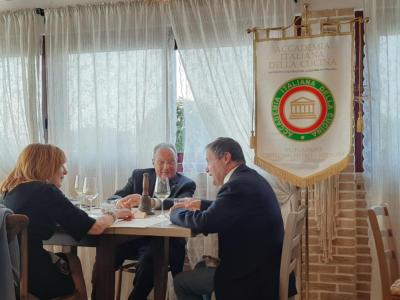 Conviviale dell'Accademia Italiana della Cucina, 'La Ciliegina' sulla torta, la mette il ristorante