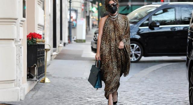 """Lady Gaga a Roma per le riprese del film """"Gucci"""" di Ridley Scott"""