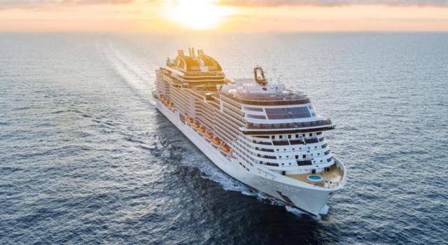 """Msc Crociere, consegnata """"Virtuosa"""": la prima nave al mondo con certificazione antivirus"""
