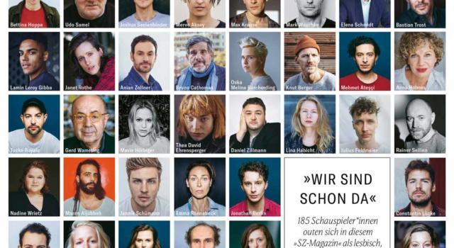Germania, primo coming out di massa per 185 attori e attrici. «Basta con le discriminazioni»