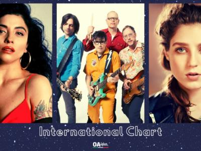 OA PLUS INTERNATIONAL CHART (WEEK 7/2021): salgono i Weezer, raggiunti da Mon Laferte e Birdy