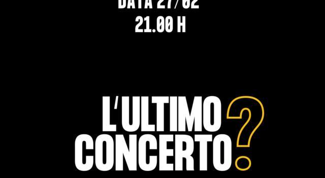 """""""L'ultimo concerto"""": sabato 27 febbraio una serie di concerti in streaming dai palchi dei live club a rischi chiusura"""