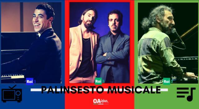 Rubrica, PALINSESTO MUSICALE: Carosello Carosone, Colapesce Dimartino, Stefano Bollani