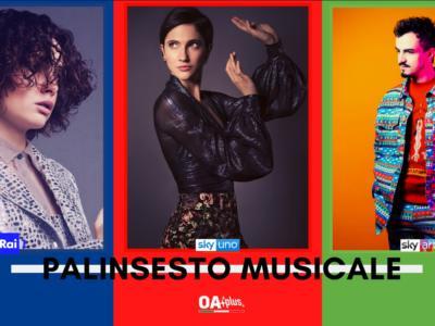 Rubrica, PALINSESTO MUSICALE: Madame, Italia's Got Talent, Folcast