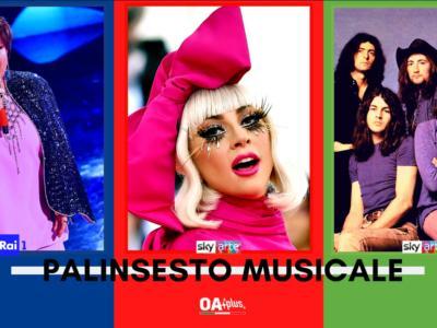 Rubrica, PALINSESTO MUSICALE: Orietta Berti, Lady Gaga, Deep Purple
