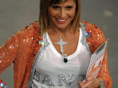 Simona Ventura positiva al Covid. Niente Festival di Sanremo