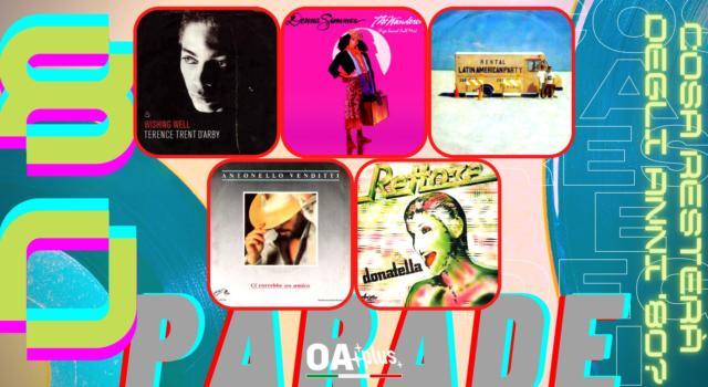Rubrica, 80PARADE. Terence Trent D'Arby, Donna Summer, Pet Shop Boys, Antonello Venditti, Rettore