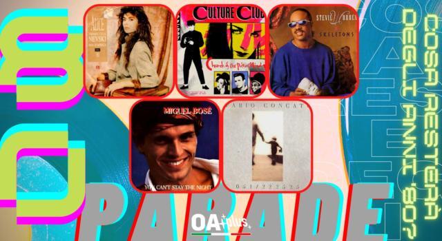 Rubrica, 80PARADE. Alice, Culture Club, Stevie Wonder, Miguel Bosé, Fabio Concato