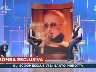 "Ad ""Ogni Mattina"" Salvo Pirrotta lancia una bomba: ""Mina presto torna dal vivo"""