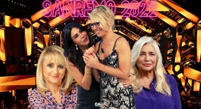 Sanremo 2022: Ipotesi Maria De Filippi, Sabrina Ferilli, Mara Venier e Luciana Littizzetto alla conduzione