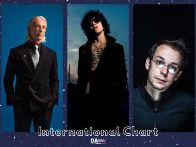 OA PLUS INTERNATIONAL CHART (WEEK 11/2021): nuovo podio con LP, Paul Weller e Rone con Yael Naim