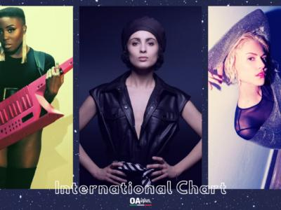 OA PLUS INTERNATIONAL CHART (WEEK 12/2021): salgono sul podio Barbara Pravi, Laura Mvula e Elena Tsagrinou