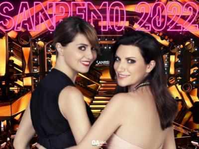 Sanremo 2022: Ipotesi Laura Pausini e Paola Cortellesi alla conduzione