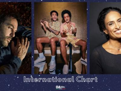 OA PLUS INTERNATIONAL CHART (WEEK 10/2021): irrompe Bruno Mars che supera Piers Faccini e Noa
