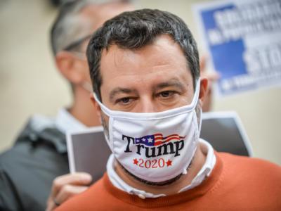 """Matteo Salvini in versione critico musicale attacca il Festival: """"A Sanremo ho sentito cinguettare"""""""