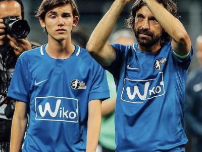 """Calcio shock, minacce al figlio di Pirlo: """"Devi morire insieme a tuo padre"""""""