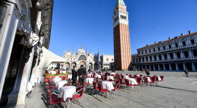 Venezia, domani riapre lo storico Caffè Quadri in piazza San Marco