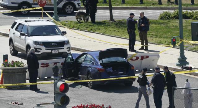 Usa, auto tenta irruzione al Congresso: morto un agente. Ucciso l'attentatore