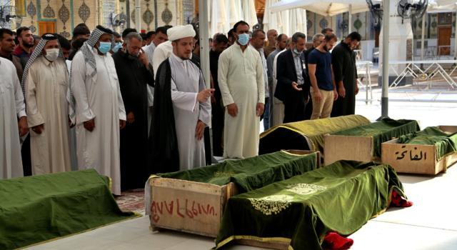 Baghdad, incendio in un reparto covid: 82 vittime