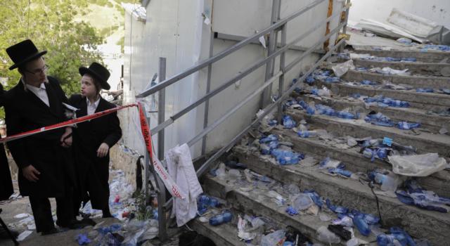 Israele, 44 morti e 150 feriti per fuga di massa durante un evento religioso
