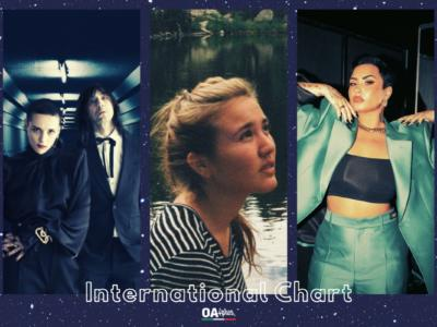 OA PLUS INTERNATIONAL CHART (WEEK 16/2021): Sul podio Rita Payés, Bobby Gillespie & Jehnny Beth e Demi Lovato