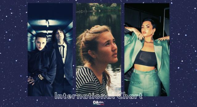 OA PLUS INTERNATIONAL CHART (WEEK 16/2021): Sul podio Rita Payés, Bobby Gillespie & Jehnny Beth e Demi Lovato