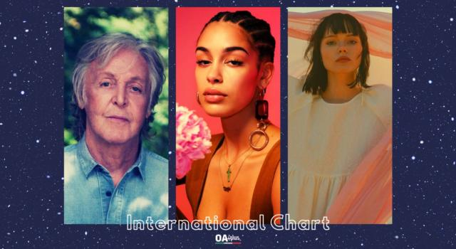 OA PLUS INTERNATIONAL CHART (WEEK 17/2021): sul podio sale Jorja Smith e debuttano Paul McCartney e Winona Oak