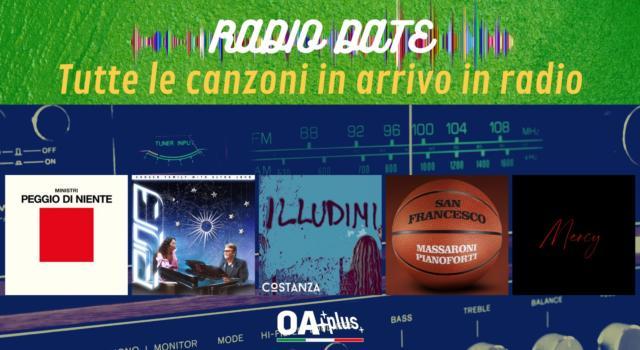 RADIO DATE del 16 aprile. Ministri, Rina Sawayama & Elton John, Costanza, Massaroni Pianoforti, Dotan