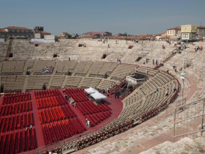 L'arena di Verona riaprirà con il doppio degli spettatori dell'anno scorso: definito il protocollo