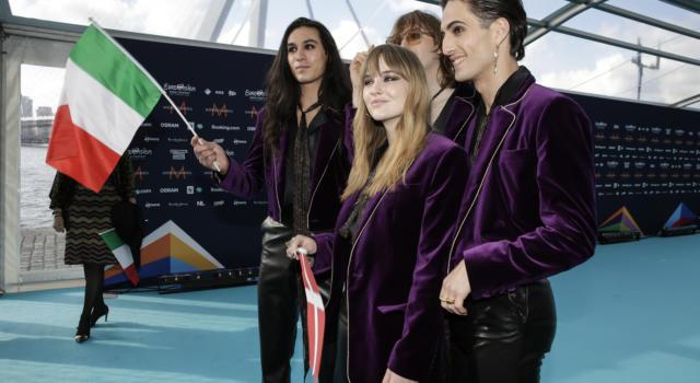 LIVE EUROVISION SONG CONTEST 2021. TRIONFO ITALIA, TRIONFO MANESKIN!