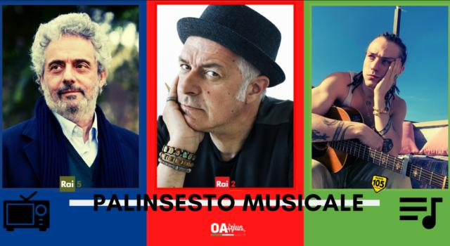 Rubrica, PALINSESTO MUSICALE: Nicola Piovani, Davide van de Sfroos, Irama
