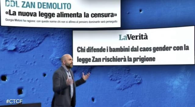"""Roberto Saviano a """"Che Tempo Che Fa"""" difende il DDL Zan dalle fake news: """"È mancata una cultura per contrastare le discriminazioni"""" – VIDEO"""