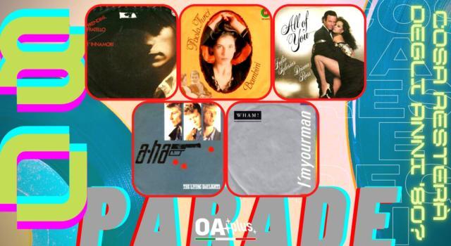 Rubrica, 80PARADE. Alberto Fortis, Paola Turci, Julio Iglesias e Diana Ross, A-Ha, Wham!