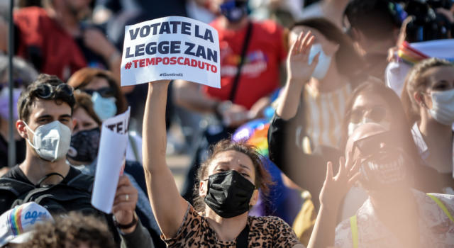 Manifestazione nazionale per il DDL ZAN: Ecco le date e le città che aderiscono